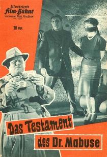 O Testamento do Dr. Mabuse - Poster / Capa / Cartaz - Oficial 3
