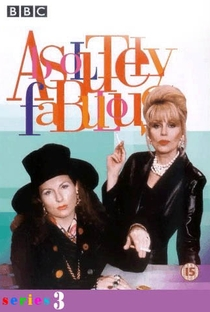 Absolutely Fabulous (3ª Temporada) - Poster / Capa / Cartaz - Oficial 1