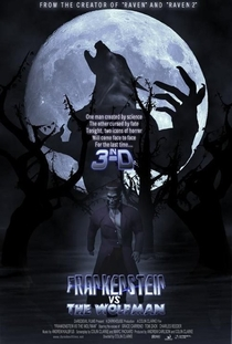 Frankenstein Vs The Wolfman - Poster / Capa / Cartaz - Oficial 1