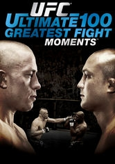 UFC: Ultimate 100 Greatest Fight Moments - Poster / Capa / Cartaz - Oficial 1