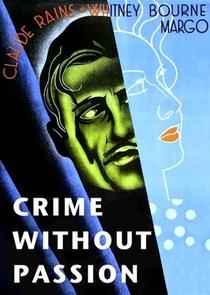 Crime Sem Paixão - Poster / Capa / Cartaz - Oficial 1