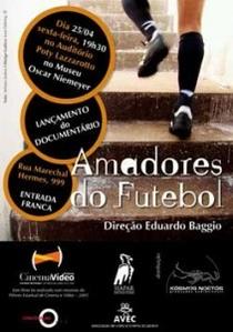 Amadores do Futebol - Poster / Capa / Cartaz - Oficial 1