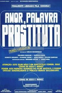 Amor, Palavra Prostituta - Poster / Capa / Cartaz - Oficial 1