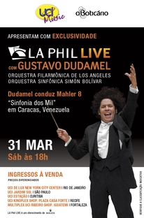Los Angeles Philharmonic Live With Gustavo Dudamel - Poster / Capa / Cartaz - Oficial 1