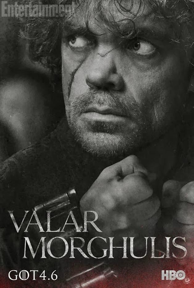 Estante Nerd: Game of Thrones   4ª temporada ganha posters de personagens