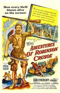 As Aventuras de Robinson Crusoé - Poster / Capa / Cartaz - Oficial 3