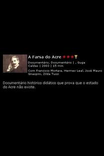 A Farsa do Acre - Poster / Capa / Cartaz - Oficial 1