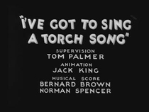 I've Got to Sing a Torch Song - Poster / Capa / Cartaz - Oficial 1