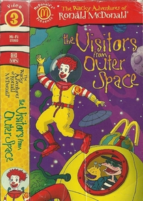 The Wacky Adventures of Ronald McDonald: The Visitors from Outer Space - Poster / Capa / Cartaz - Oficial 2