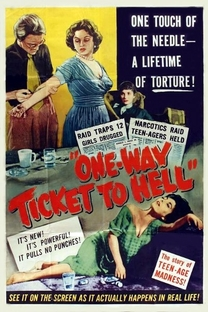 One Way Ticket to Hell - Poster / Capa / Cartaz - Oficial 2