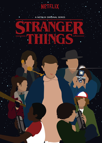 Stranger Things (1ª Temporada) - Poster / Capa / Cartaz - Oficial 3