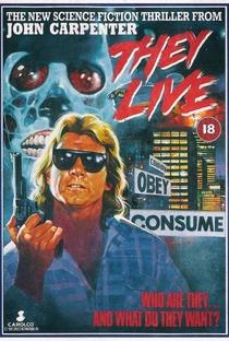 Eles Vivem - Poster / Capa / Cartaz - Oficial 14
