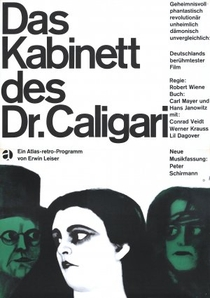 O Gabinete do Dr. Caligari - Poster / Capa / Cartaz - Oficial 3