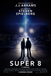 Super 8 - Poster / Capa / Cartaz - Oficial 3