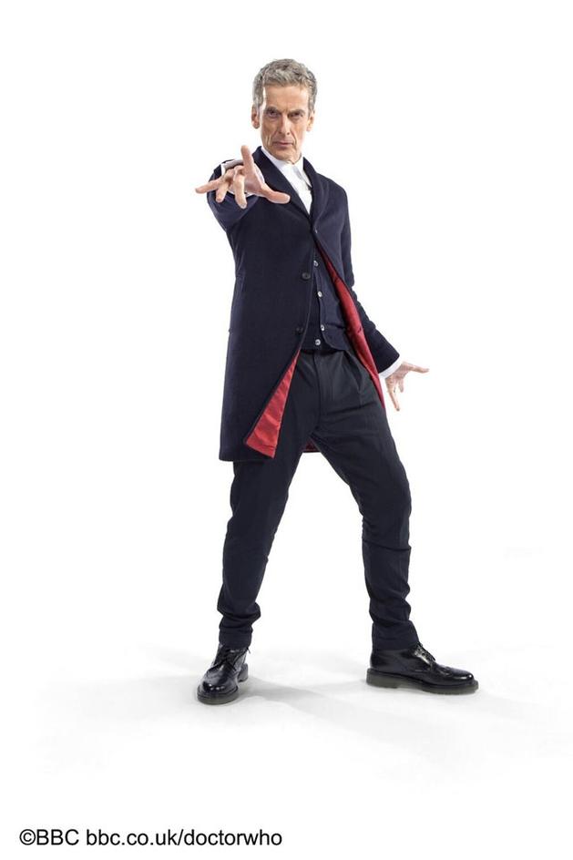 12º Doutor tem seu visual revelado