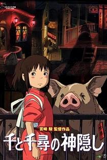 A Viagem de Chihiro - Poster / Capa / Cartaz - Oficial 16