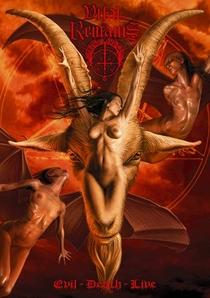 VITAL REMAINS - EVIL - DEATH - LIVE - Poster / Capa / Cartaz - Oficial 1