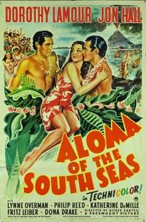 Aloma dos Mares do Sul - Poster / Capa / Cartaz - Oficial 1