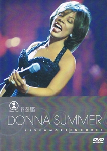 Donna Summer - Live and More Encore  - Poster / Capa / Cartaz - Oficial 1