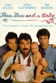 Três Solteirões e um Bebê - Poster / Capa / Cartaz - Oficial 2