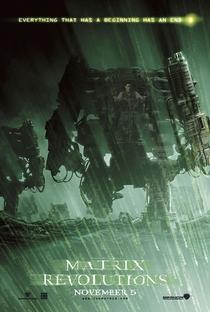 Matrix Revolutions - Poster / Capa / Cartaz - Oficial 4