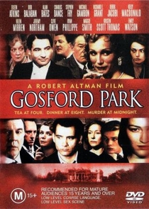 Assassinato em Gosford Park - Poster / Capa / Cartaz - Oficial 4