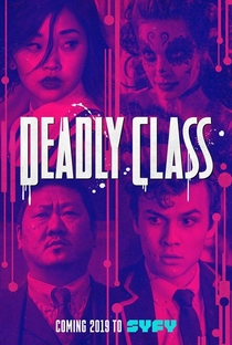 Deadly Class (1ª Temporada) - Poster / Capa / Cartaz - Oficial 2