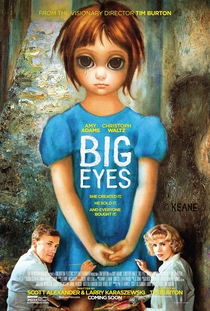 Grandes Olhos - Poster / Capa / Cartaz - Oficial 2