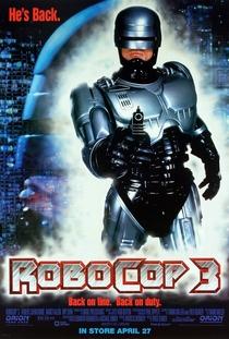 RoboCop 3 - Poster / Capa / Cartaz - Oficial 4
