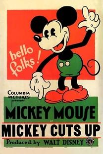 Mickey Cuts Up - Poster / Capa / Cartaz - Oficial 1