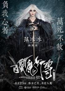 A Bruxa do Cabelo Branco do Reino Lunar - Poster / Capa / Cartaz - Oficial 3