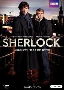Sherlock (1ª Temporada) - Poster / Capa / Cartaz - Oficial 1