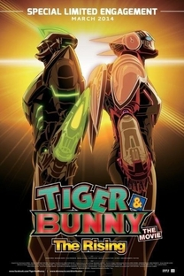 Tiger & Bunny 2: The Rising - Poster / Capa / Cartaz - Oficial 4