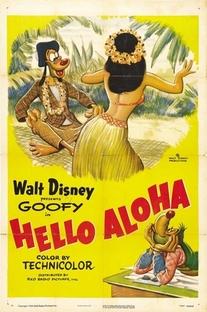 Pateta - Ola Aloha - Poster / Capa / Cartaz - Oficial 1