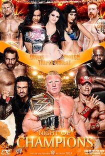 WWE Night of Champions - 2014 - Poster / Capa / Cartaz - Oficial 2