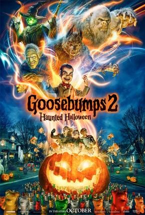 Goosebumps  Halloween Assombrado Poster Capa Cartaz Oficial