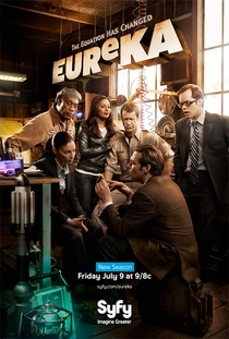 Eureka (4ª Temporada) - Poster / Capa / Cartaz - Oficial 1