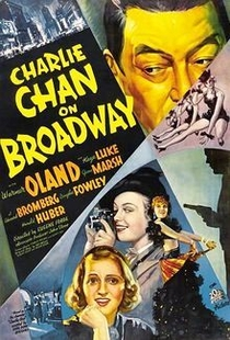 Charlie Chan na Broadway - Poster / Capa / Cartaz - Oficial 1