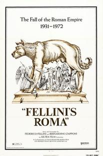 Roma de Fellini - Poster / Capa / Cartaz - Oficial 2
