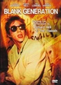 Blank Generation - Poster / Capa / Cartaz - Oficial 1