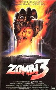 Zombie 3 - Poster / Capa / Cartaz - Oficial 1