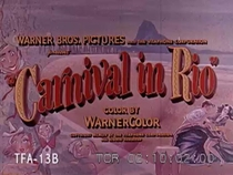 Carnival in Rio - Poster / Capa / Cartaz - Oficial 1