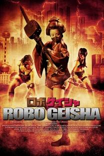 RoboGeisha - Poster / Capa / Cartaz - Oficial 6