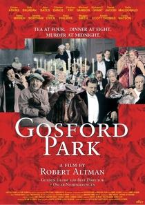 Assassinato em Gosford Park - Poster / Capa / Cartaz - Oficial 2