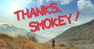Thanks, Smokey! (Thanks, Smokey!)