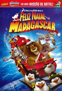 Feliz Natal Madagascar - Poster / Capa / Cartaz - Oficial 3