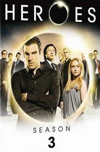 Heroes (3ª Temporada) - Poster / Capa / Cartaz - Oficial 1