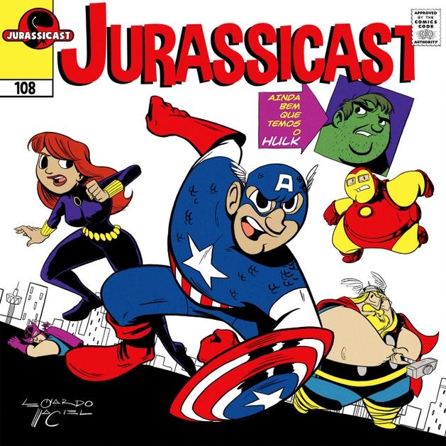 JurassiCast 108 - Ainda Bem que Temos o Hulk