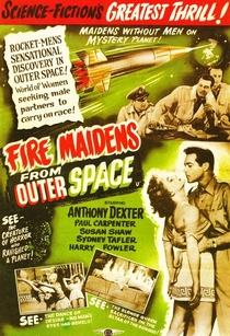 Fire Maidens from Outer Space - Poster / Capa / Cartaz - Oficial 1
