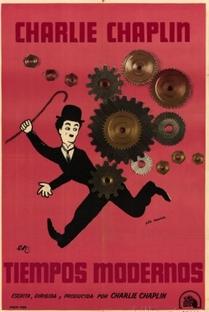 Tempos Modernos - Poster / Capa / Cartaz - Oficial 12